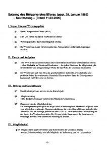 thumbnail of BVE Satzung