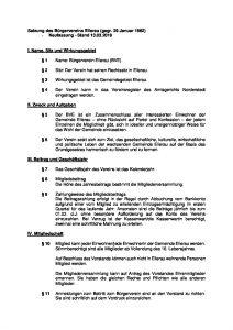 thumbnail of Satzung des Bürgervereins Ellerau